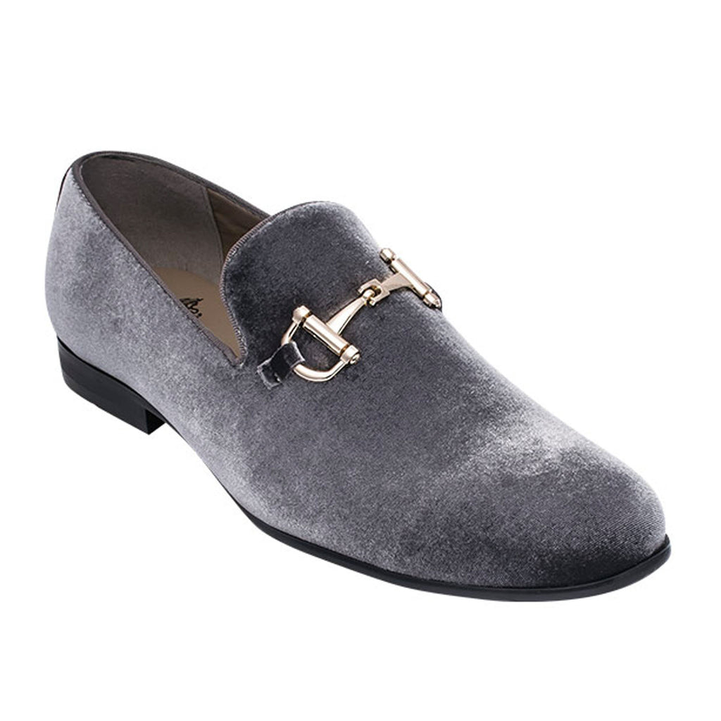 Gray Loafer Shoe