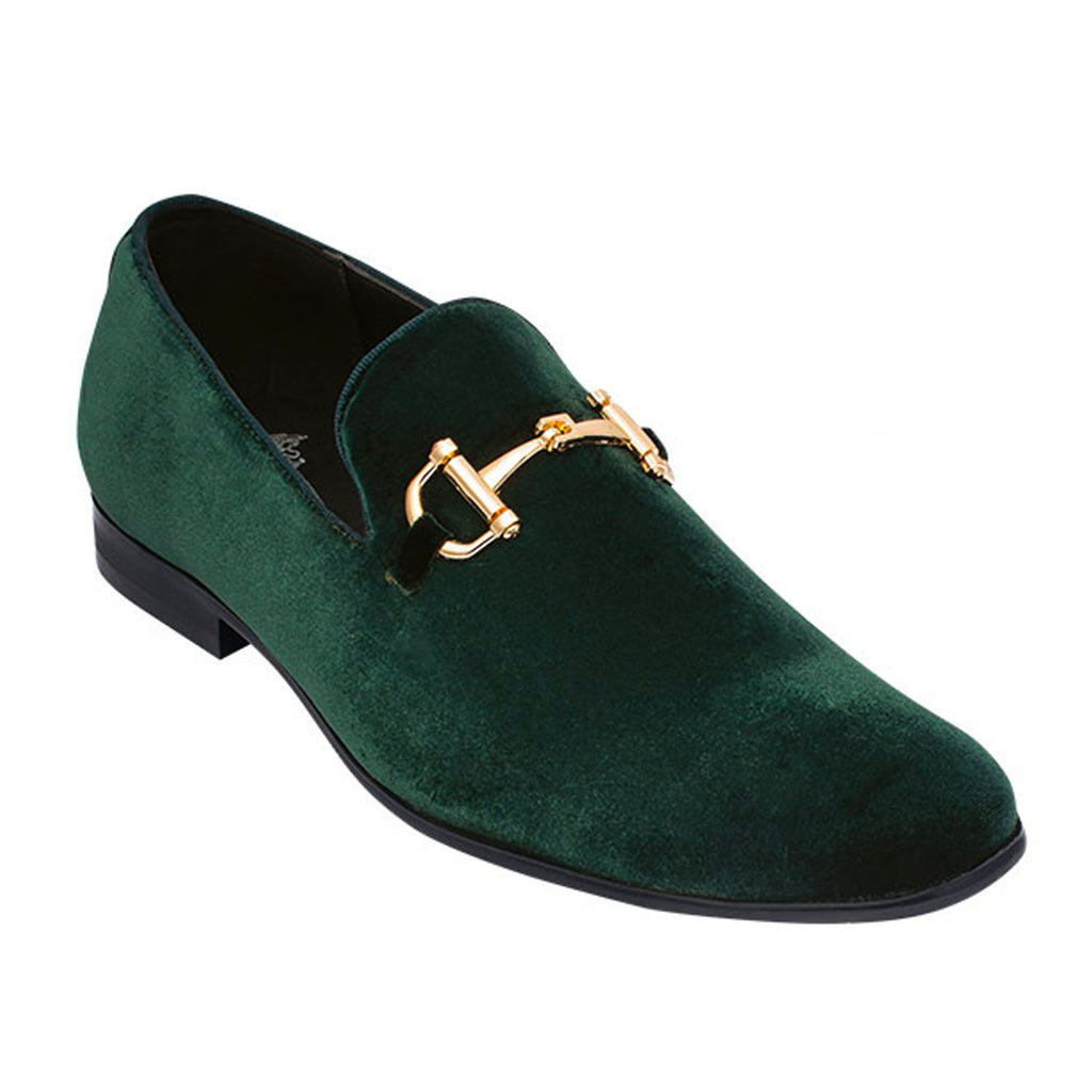 Green Loafer Shoe