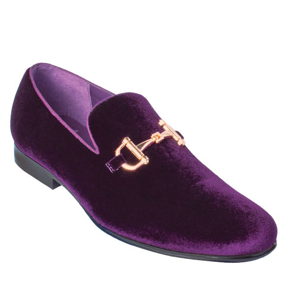 Purple Loafer Shoe