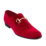 Red Loafer Shoe