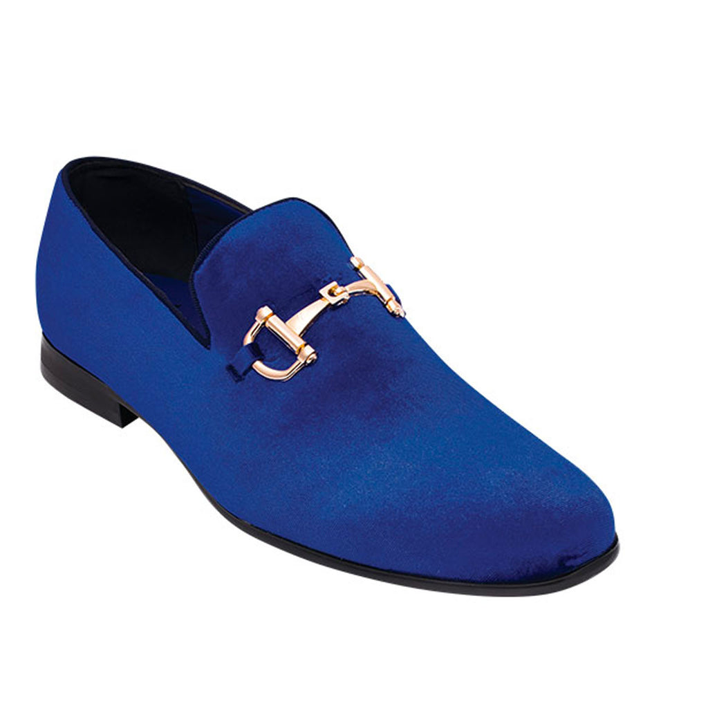 Royal Blue Loafer Shoe