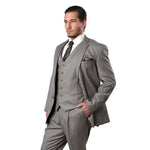 MENS SUIT 3-PC MODERN FIT SUITS M210