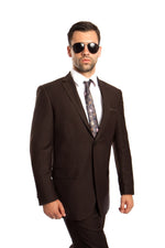MENS SUIT 2-PC MODERN FIT SUITS M215