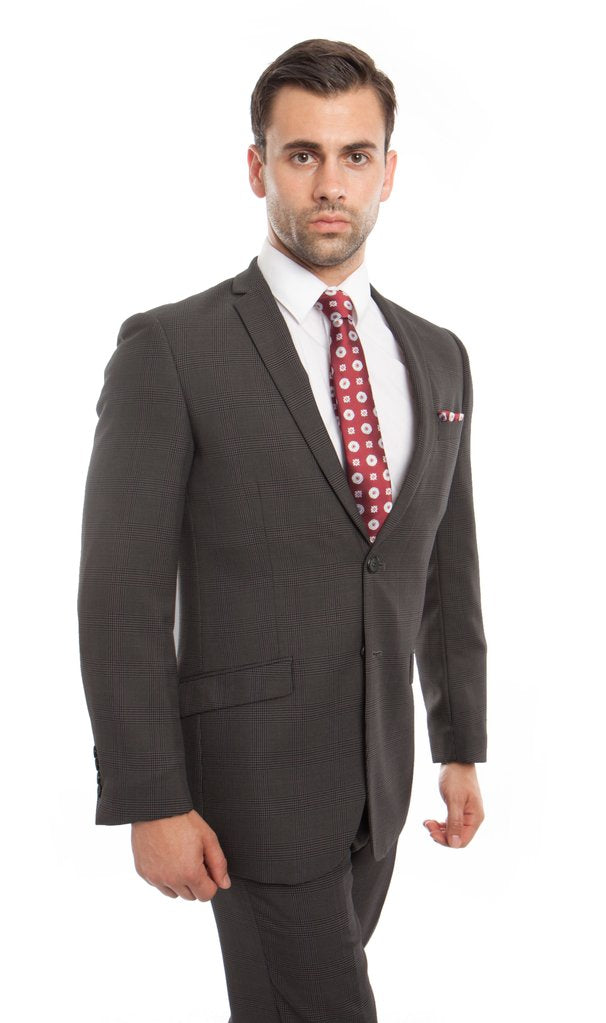 MENS SUIT 2-PC SLIM FIT SUITS M241S