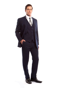 MENS SUIT 3-PC SLIM FIT SUITS M254S