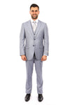 MENS SUIT 3-PC SLIM FIT SUITS M271S
