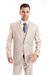 MENS SUIT 3-PC MODERN FIT SUITS M302