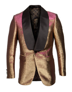 EMPIRE SHAWL COLLAR HYBRID/SLIM FIT BLAZER JACKET ME272H