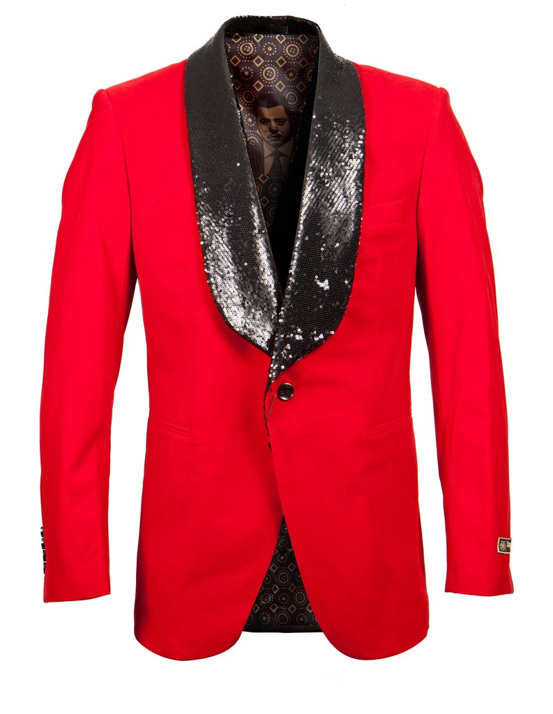 EMPIRE SHAWL COLLAR HYBRID/SLIM FIT BLAZER JACKET ME273