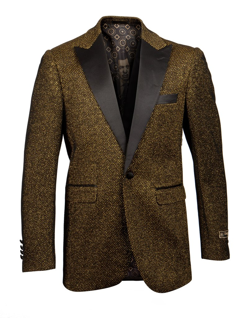 EMPIRE PEAK LAPEL HYBRID/SLIM FIT BLAZER JACKET ME274H