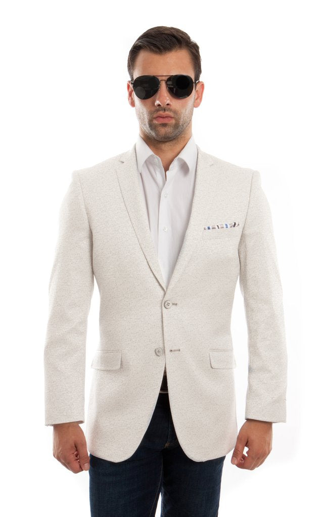 SLIM FIT MENS SPORTS COAT BLAZER JACKET MJ198S