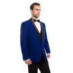 SHAWL COLLAR TUXEDO SOLID SLIM FIT PROM TUXEDOS MT252S