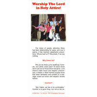 Worship The Lord in Holy Attire