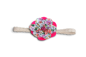 BABY GIRL HAIR ACCESSORIES FOR NEW BORN, INFANT AND TODDLERS: ROSE SHARON, Baby and Kids Hair Accessories, ZuriBabyCouture-Global