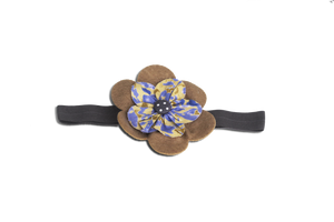 BABY GIRL HAIR ACCESSORIES FOR NEWBORN, INFANT AND TODDLERS: BAND OF BROWN, Baby and Kids Hair Accessories, ZuriBabyCouture-Global