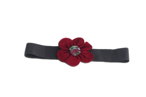 BABY GIRL HAIR ACCESSORIES FOR NEWBORN, INFANT AND TODDLERS: TRUE RED, Baby and Kids Hair Accessories, ZuriBabyCouture-Global