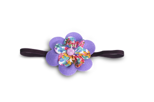 BABY GIRL HAIR ACCESSORIES FOR NEWBORN, INFANT AND TODDLERS: ADORABLE PURPLE, Baby and Kids Hair Accessories, ZuriBabyCouture-Global