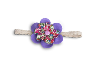 BABY GIRL HAIR ACCESSORIES FOR NEWBORN, INFANT AND TODDLERS: PURPLE BERRY, Baby and Kids Hair Accessories, ZuriBabyCouture-Global