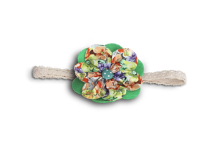 BABY GIRL HAIR ACCESSORIES FOR NEWBORN, INFANT AND TODDLERS: GREEN MEADOW, Baby and Kids Hair Accessories, ZuriBabyCouture-Global
