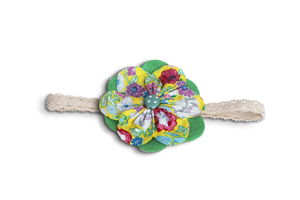 BABY GIRL HAIR ACCESSORIES FOR NEWBORN, INFANT AND TODDLERS: GREEN GARDEN, Baby and Kids Hair Accessories, ZuriBabyCouture-Global