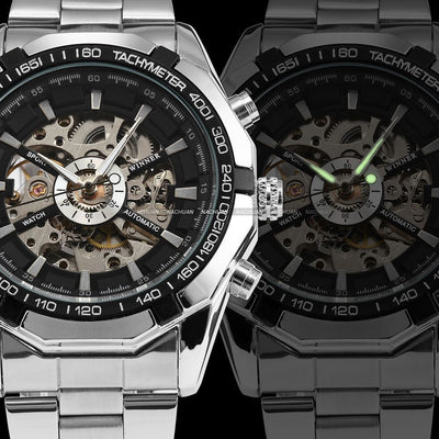 0460538f0c6 Winner Skeleton Automatic Mechanical Watch TM340 - Seize Your Time