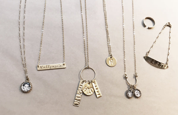 personalized handcrafted jewelry by holly