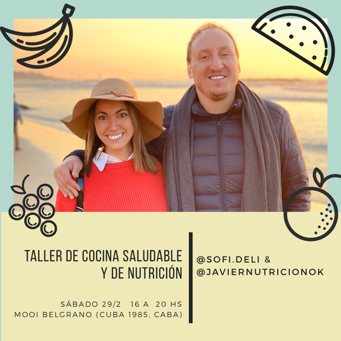 Buenos Aires / Workshop de Cocina Saludable + Brunch
