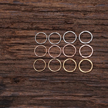 Nose Hoop Small Hoop Nose Piercing Nose Ring Simple Base Stainless Steel 22g 20g 18g 16g