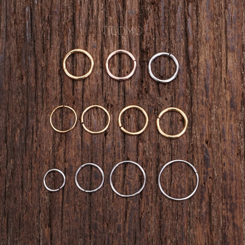 Tragus Hoop Small Hoop Earring Daith Hoop Tiny Hoop Earring Tragus Piercing Daith Piercing Stainless Steel 22g 20g 18g 16g