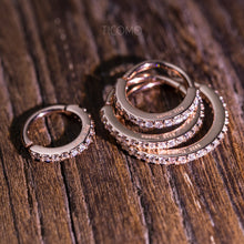 Conch Earring Hoop Earring Helix Hoop Tiny Hoop Earring Cartilage Piercing Helix Piercing Zircon 6-12mm