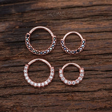 Daith Piercing Small Hoop Earring Daith Earring Tiny Hoop Earring Septum Ring Septum Piercing Rook Piercing Rose Gold Silver Black Man Men