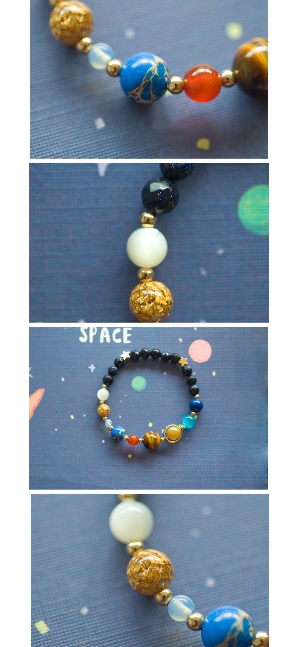 Things Of The Stars Solar System Bracelet