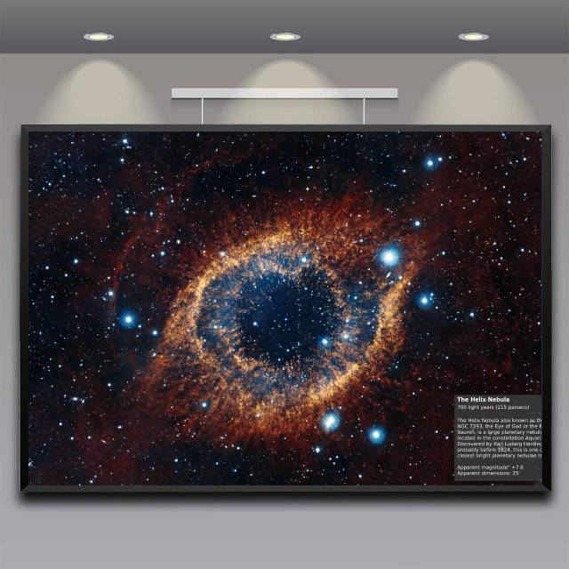 The Helix Nebula Poster (Infrared)