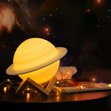 Load image into Gallery viewer, Saturn Night Lamp