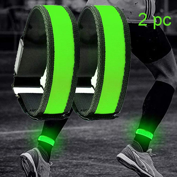 2 Pack Running LED Bands (Ankle and Arm)