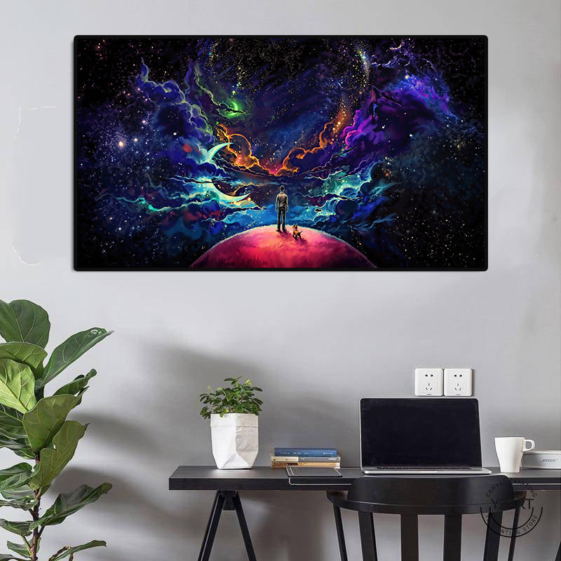 Lost In The Cosmos Poster