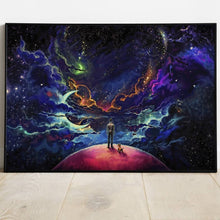 Load image into Gallery viewer, Lost In The Cosmos Poster