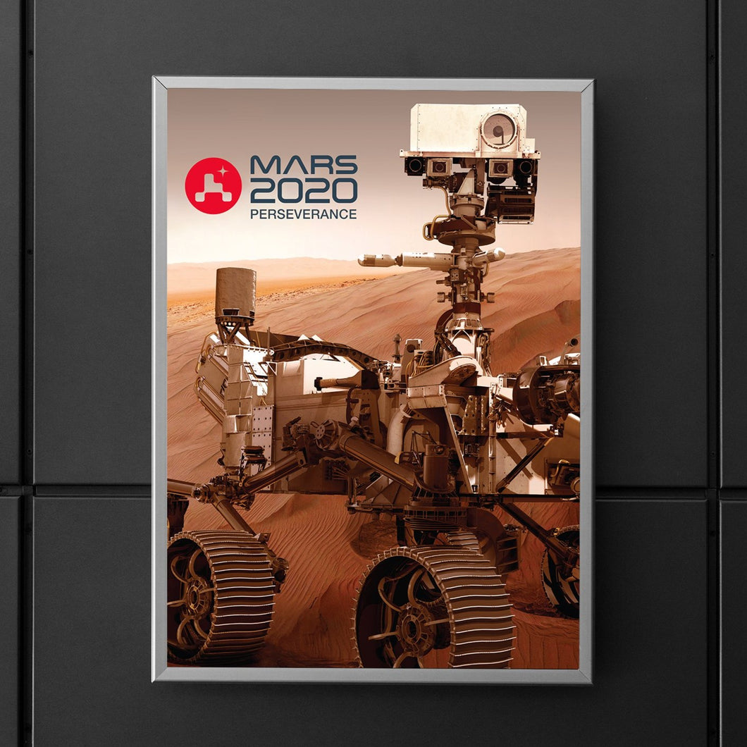 Mars 2020 Perseverance Poster