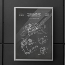 Load image into Gallery viewer, Space Shuttle Patent (1978) Poster