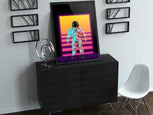 Load image into Gallery viewer, The Synthwave Astronaut WallArt Poster