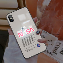 Load image into Gallery viewer, NASA Smart Luminous LED Case iPhone (Light Brown)