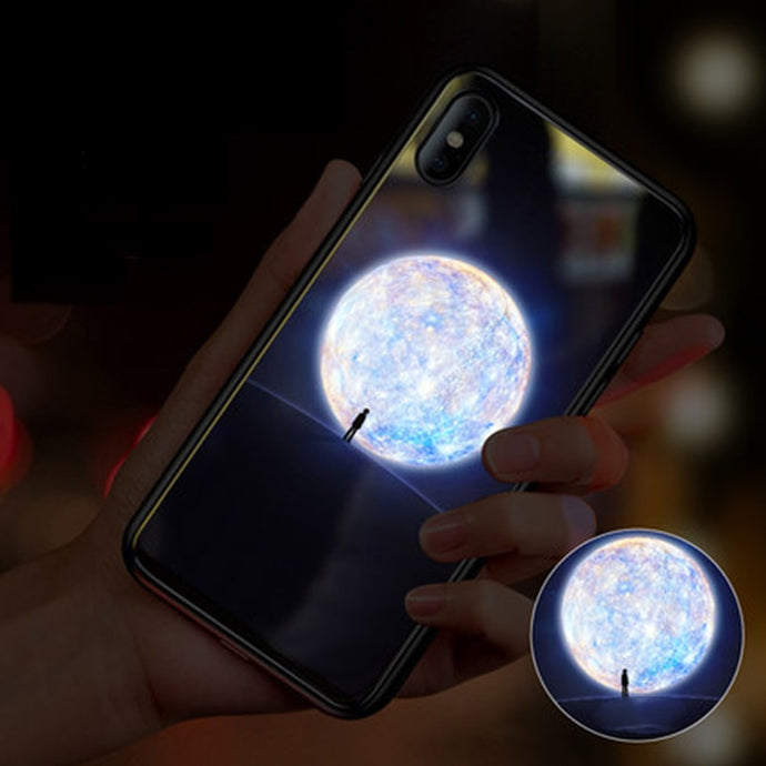 The Moon Smart Luminous LED Case iPhone
