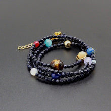 Load image into Gallery viewer, Solar System Bracelet/Chain (75 cm)