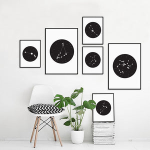 Constellations Sign Canvas - Wall Poster