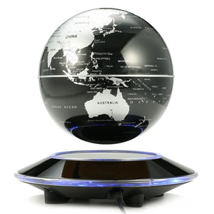 Floating Rotating Earth Globe Lamp (Flat Base)