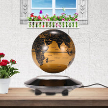 Load image into Gallery viewer, Floating Rotating Earth Globe Lamp (Flat Base)