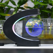 Charger l'image dans la galerie, Floating Rotating Earth Globe Lamp (C-Shaped)