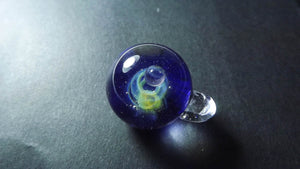 Gaia Galaxy Glass Pendant