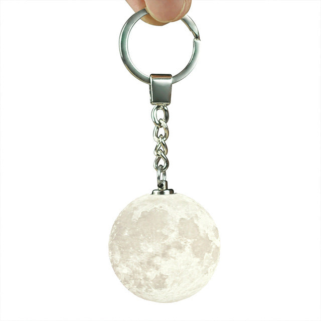 Moon Light Keychain