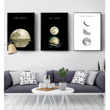 Charger l'image dans la galerie, The Moon - Wall Poster